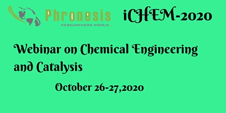 Webinar on Chemical Engineering and Catalysis tickets