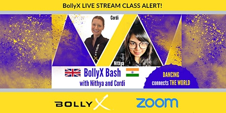 BollyX Bash with Nithya and Cordi tickets