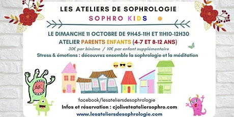 Atelier de sophrologie parents / enfants Courbevoie tickets