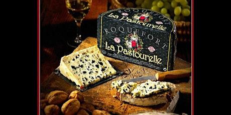 Degustación de queso de alta gama: Roquefort La Pastourelle entradas