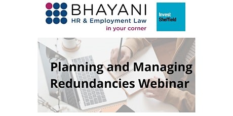 Planning and Managing Redundancies Webinar tickets