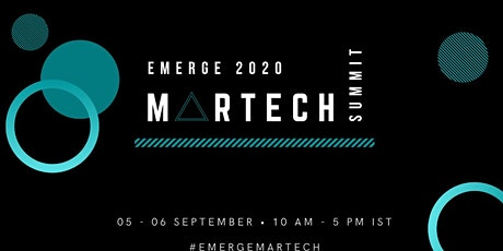 EMERGE 2020 MARTECH  SUMMIT tickets