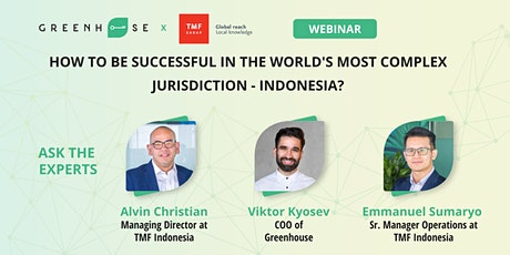 How to be successful in the world's most complex jurisdiction - Indonesia? tickets