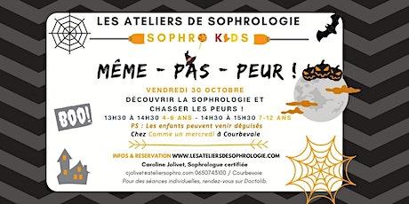 Atelier sophrologie enfants spécial Halloween Courbevoie : Même pas peur ! tickets