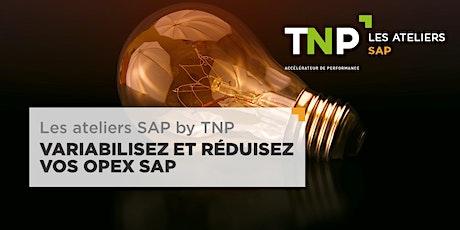 Les Ateliers SAP by TNP - Variabilisez et réduisez vos OPEX SAP billets