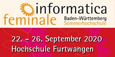 informatica feminale Baden-Württemberg Tickets