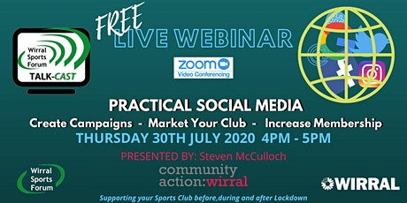 Live Webcast on more effective use of social media tickets