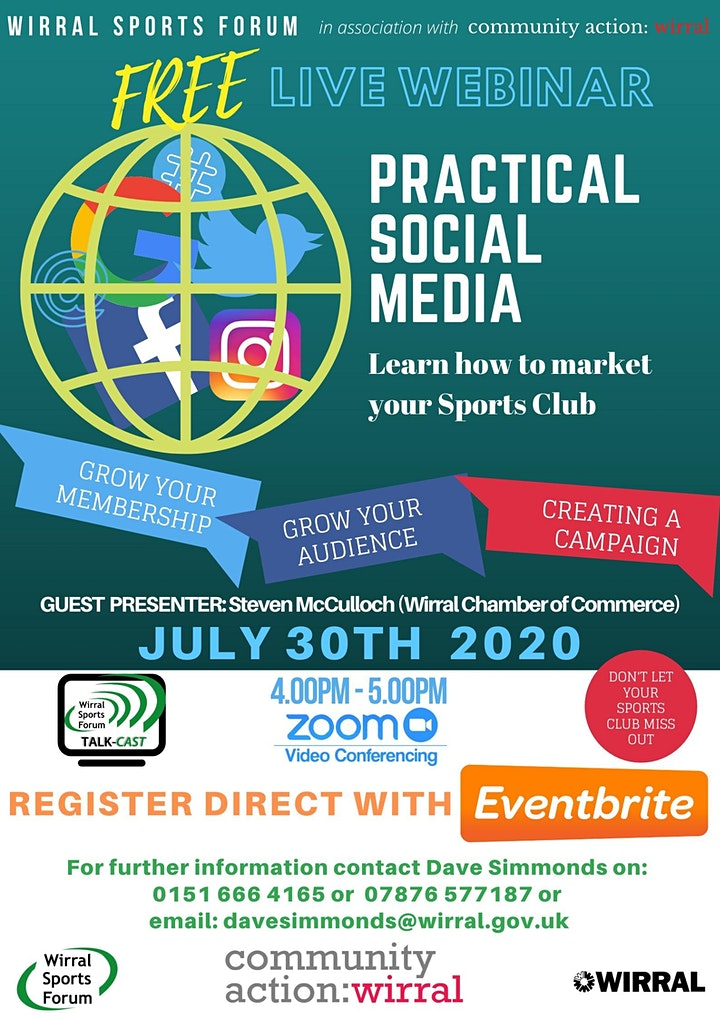 Live Webcast on more effective use of social media image