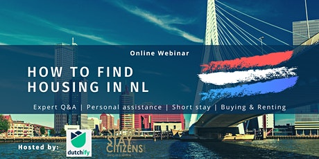 Moving to the Netherlands: How to find Housing tickets