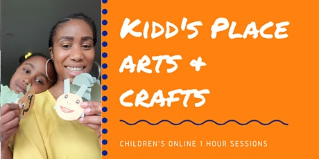 Online Arts and Crafts sessions for children tickets