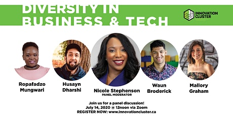 Diversity in Business and Tech tickets