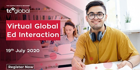 Virtual Global Ed Interaction in Bangalore 2020 Hosted by TC Global tickets