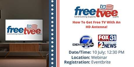 Webinar: How To Get Free TV With A HD Antenna! tickets