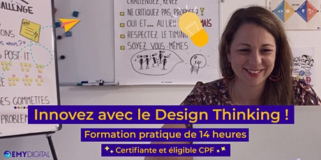 Formation à distance :  Innovez avec le Design Thinking ! tickets