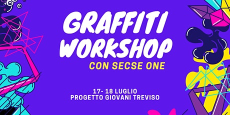 Graffiti Workshop con Secse One biglietti