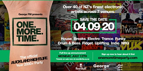 ONE:MORE:TIME  - The Offical Nightlife 2000+ Event, All Genres, All Anthems tickets