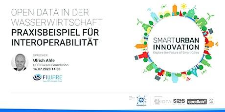 Open Data in der Wasserwirtschaft - Praxisbeispiel für Interoperabilität tickets