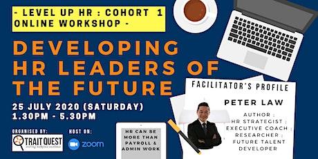 Level Up HR : Cohort 1 Online Workshop - Developing HR Leaders of Tomorrow entradas