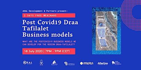 Post Covid19 Draa Tafilalet Business models billets
