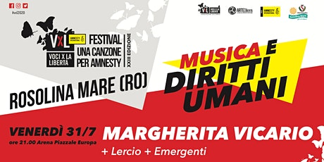 Voci per la Libertà - concorso emergenti + Lercio + Margherita Vicario biglietti