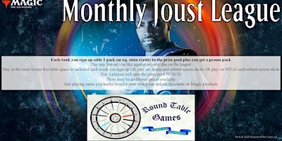 Magic July 2020 Joust League at Round Table Games