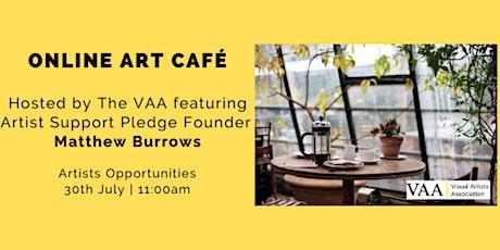 The VAA Art Café Featuring Matthew Burrows tickets