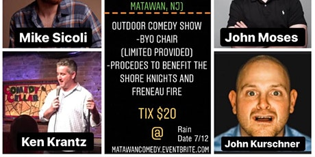 Comedy Show at Freneau Field tickets
