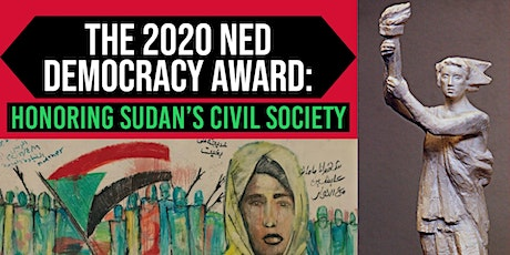 The 2020 NED Democracy Award: Honoring Sudan's Civil Society tickets