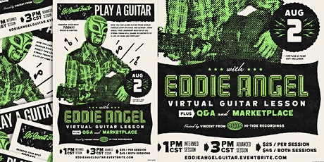 Play a Guitar with Eddie Angel tickets