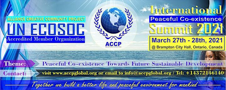 International Peaceful Co-existence Summit 2021 image