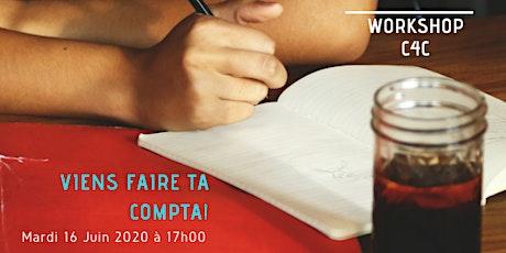 Workshop du 22 Septembre  2020 chez C4C, Ecole des métiers de la Gestion billets