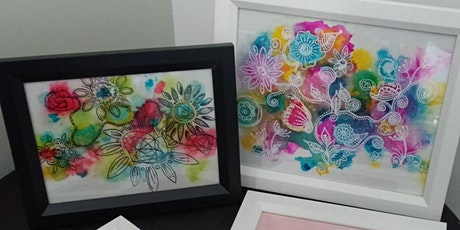 Alcohol Ink Workshop for Beginners. tickets