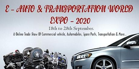 AUTO & TRANSPORTATION WORLD EXPO – 2020 tickets