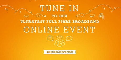 Online via Teams, Gigaclear Presentation/ Q and A Event - Bladon tickets