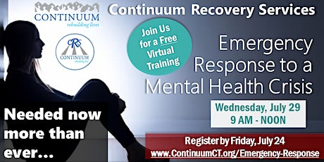 Emergency Response to a Mental Health Crisis tickets