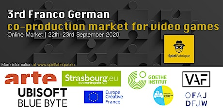 3rd Franco German co-production Market for video games tickets