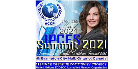 International Peaceful Co-existence Summit 2021 tickets
