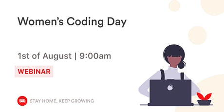 Webinar - Women Coding Day tickets