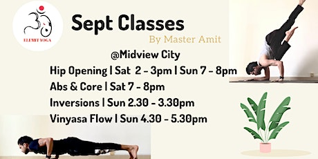 September Classes tickets