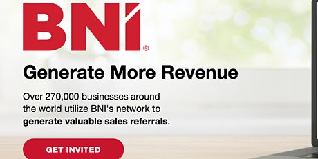 Business Networking with BNI Halifax central tickets