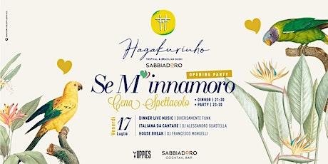 17.07 Se M'innamoro - Yuppies @Hagakurinho c/o Sabbiadoro Beach biglietti