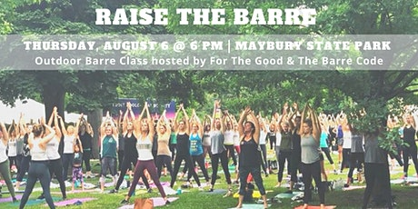 Raise The Barre: Barre Class at Maybury State Park tickets