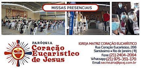 Santa Missa - 12/07/2020 - 8h45 ingressos