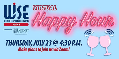 WISE Boston: July Virtual Happy Hour tickets
