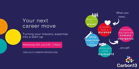 Your next career move: turning your industry expertise into a startup tickets