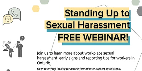 Standing Up to Sexual Harassment: Webinar for Youth at Work tickets