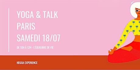 YOGA + TALK BALANCED LIFE / PARIS 20ÈME (2H) billets