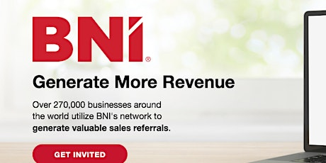 ONLINE Networking - BNI Bedford and Beyond tickets