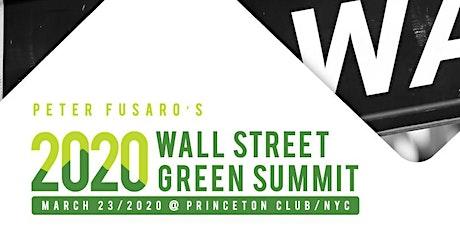 Wall Street Green Summit Week tickets