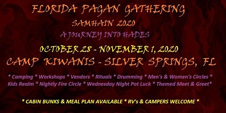 FLORIDA PAGAN GATHERING - SAMHAIN 2020 tickets